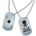Team Dixon dogtag set