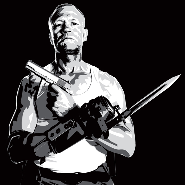 Merle Dixon of The Walking Dead