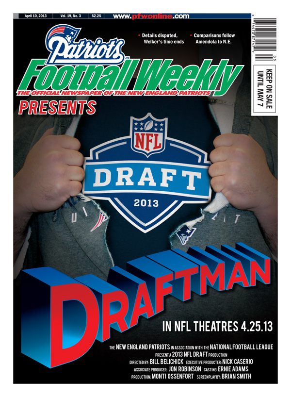 Patriots Football Weekly 2013 Draft cover